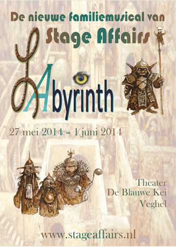 2014 stageaffairs het Labyrinth flyer